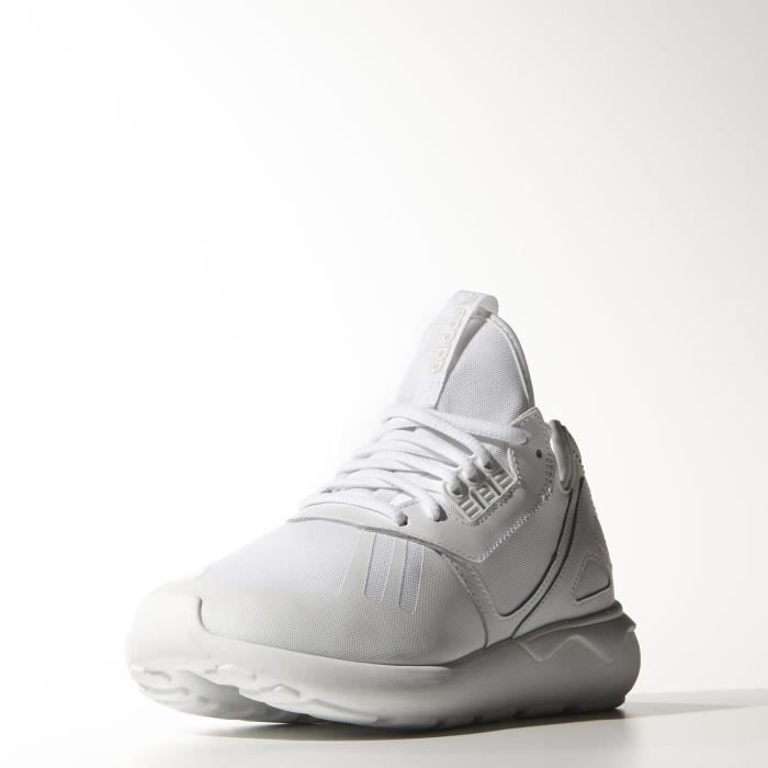 Baskets Adidas Tubular Runner B25087 blanches.