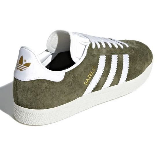 Baskets adidas Gazelle kaki