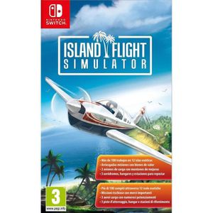 JEU NINTENDO SWITCH Island Flight Simulator Jeu Switch