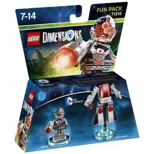 FIGURINE DE JEU Figurine LEGO Dimensions - Cyborg - DC Comics