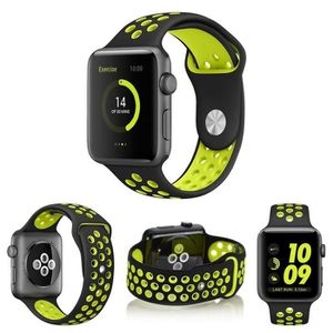 BRACELET MONTRE CONNEC. AIBEIER® Bracelet de montre pour Apple Watch iWatc