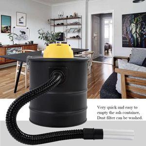 SEAU À CENDRE 20 L Aspirateur de cendres Cheminée Hoover Cylindr