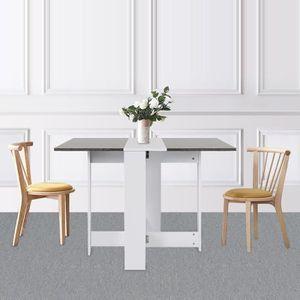 TABLE À MANGER SEULE KEKE-Table Extensible Cuisine Table à Manger de 4