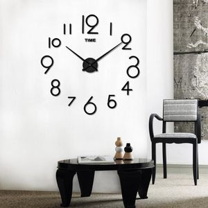 horloge murale design salon achat vente horloge murale design salon pas cher cdiscount. Black Bedroom Furniture Sets. Home Design Ideas