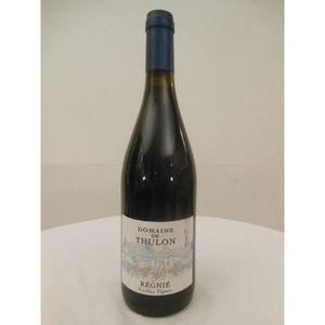 VIN ROUGE régnié thulon vieilles vignes rouge 2008 - beaujol