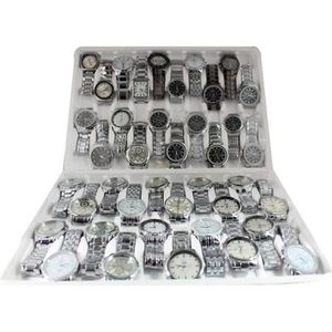 MONTRE LOT 50 MONTRES HOMME A QUARTZ MELANGEES DESTOCKAGE
