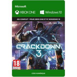 JEU XBOX ONE À TÉLÉCHARGER Crackdown 3 Jeu Xbox One à télécharger