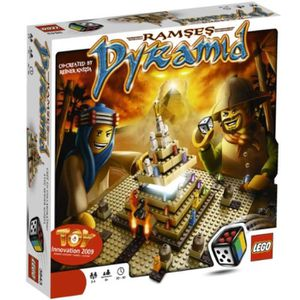 ASSEMBLAGE CONSTRUCTION Jeu D'Assemblage LEGO SIPLW Ramses Pyramid (3843