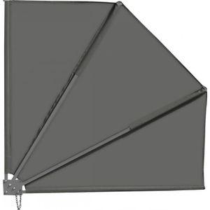 CLÔTURE - GRILLAGE Brise-vue pour balcon 140 x 140 cm, gris anthracit