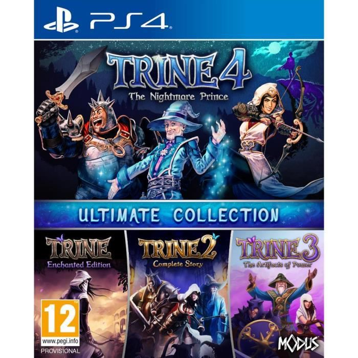 Trine Ultimate Collection Jeu PS4