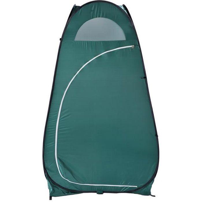 Tente de Douche 120 x 120 x 190 CM Pliable pour Camping Imperméable Instantanée Pop-Up Tente de Toilette Portable à l'Extérieur