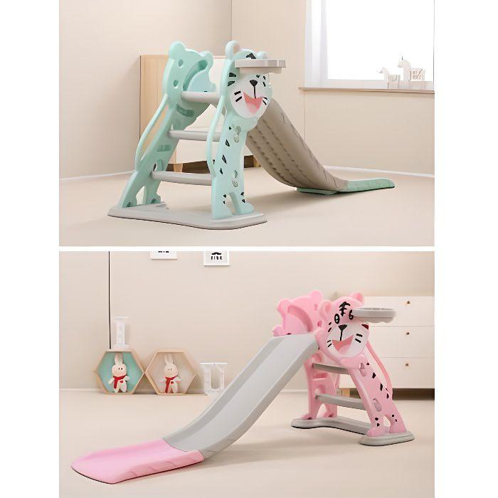 Toboggan petit chat Bleu - Jeux et jouets pour enfants plein air