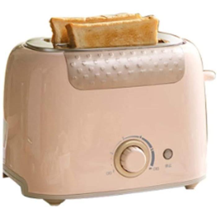 TOASTER YBZS Mini Multifonction Automatique GrillePain meacutenage Chauffage Rapide 2 tranches Machine Petit Sandwich de Pain gr1470