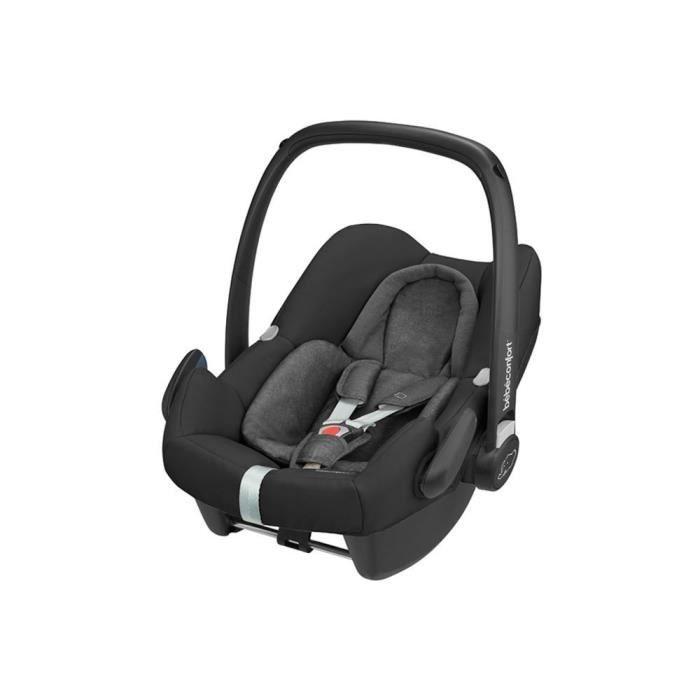 Bébé Confort Siège Auto Cosi Rock i-Size – Groupe 0+ (0-13kg) - Nomad Black