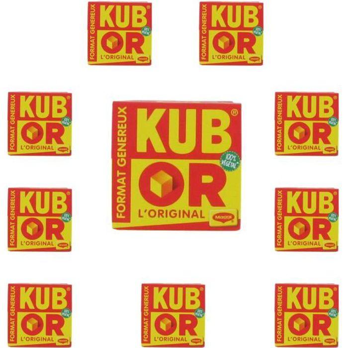 [Lot de 10] Bouillons Kub or Maggi x48 - 192g par boite