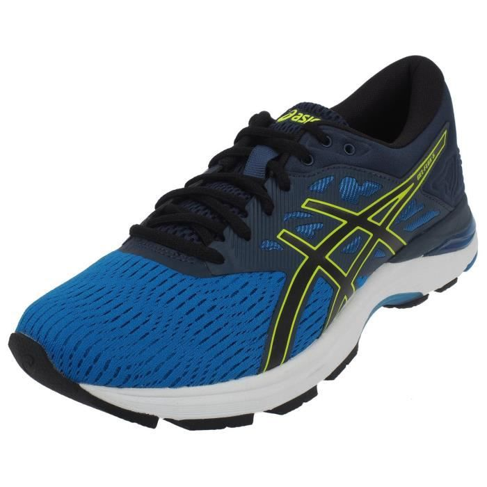 Chaussures running Flux 5 gel blue/blk run - Asics