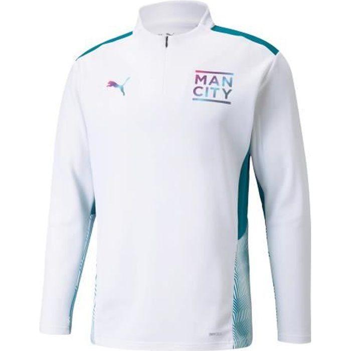 Sweat Manchester City Training 2021/22 - blanc/bleu clair - L