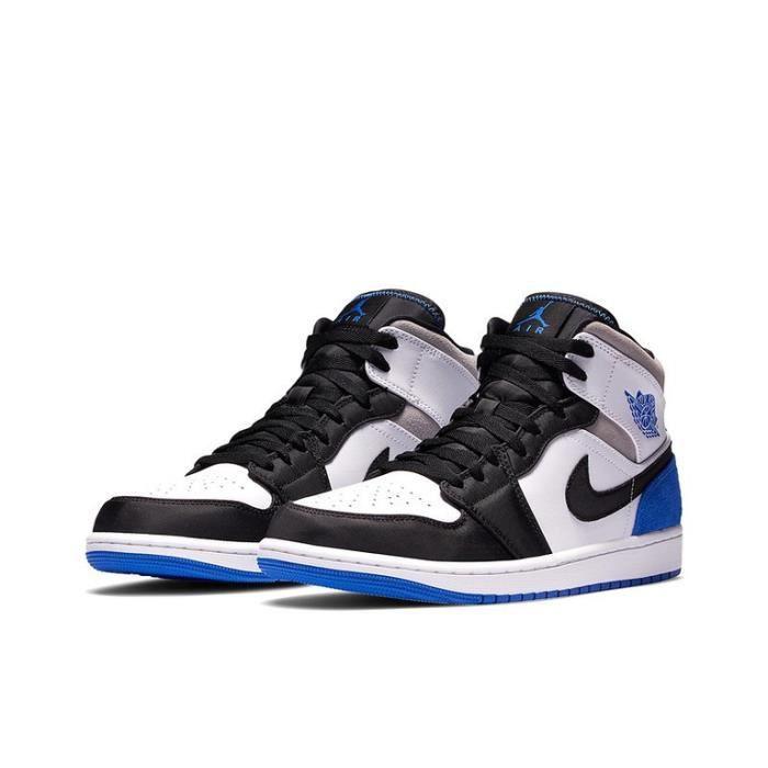 Air Jordan 1 Mid-Game Royal-Chaussures de Sport AJ 1 Pas Cher pour Homme Femme