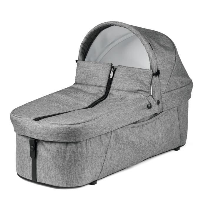 PEG PEREGO Nacelle souple pour poussette Book For Two - Gris cinder