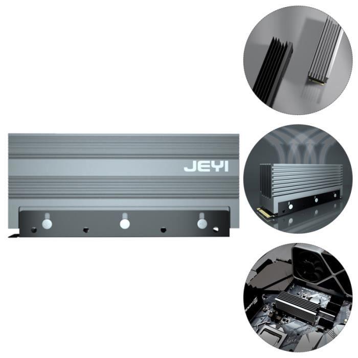 Aluminum Heating Sink Computer Accessory for M.2 2280 radiateur electrique fixe genie thermique - climatique - chauffage