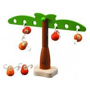 PLAN TOYS Jeu en bois Singes Equilibrants