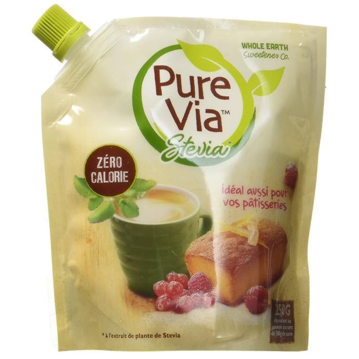 Pure Via de Stevia Le Doypack 250 g Poudre