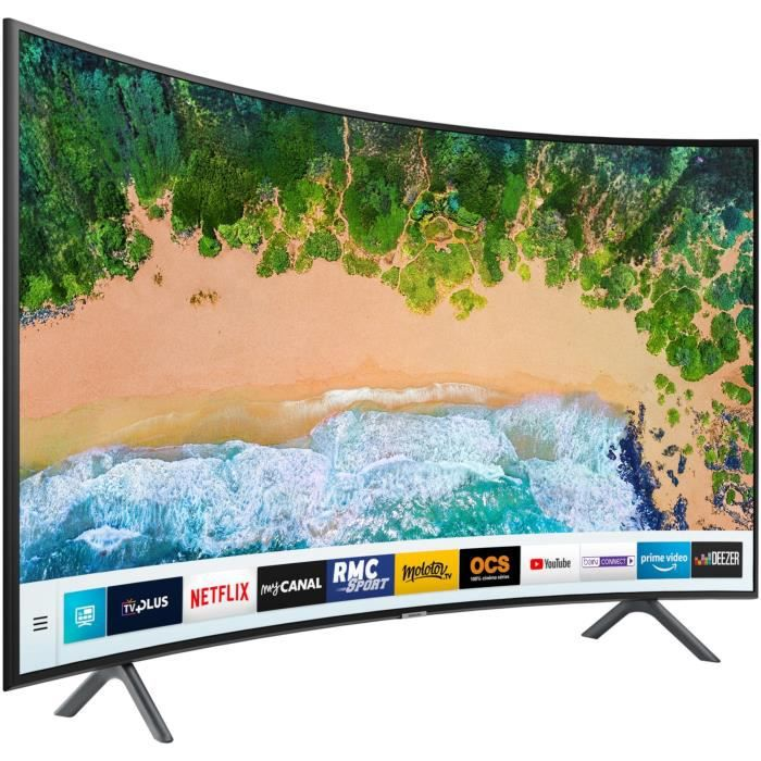 TV UHD Led Samsung 55 Incurvé