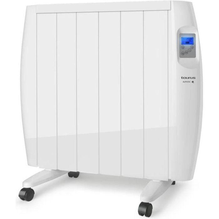 TAURUS Radiateur électrique à inertie sèche Malbork 1200 - 1200W