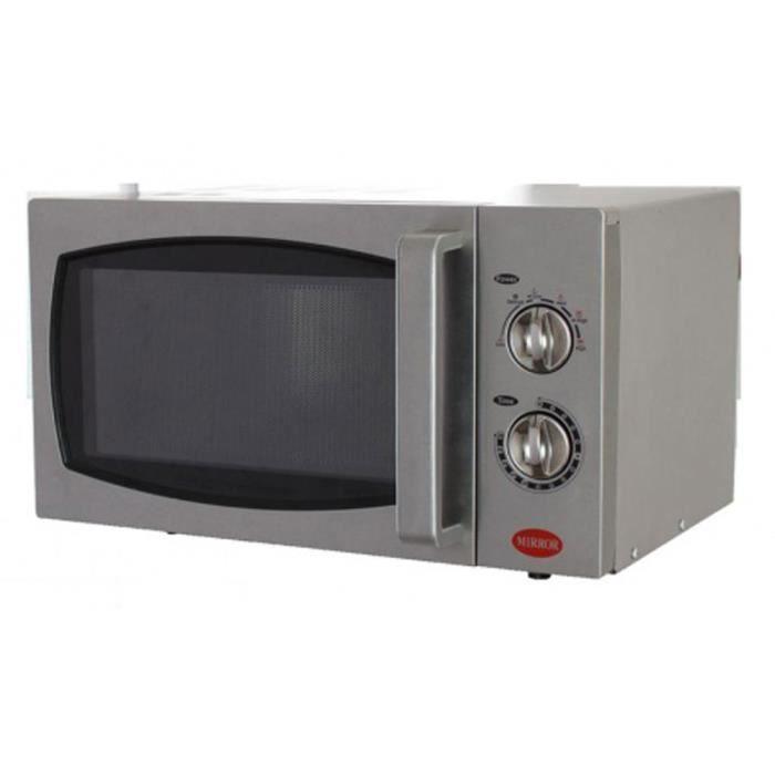 Four à micro-ondes 900W - L483 x P398 x H281 mm - MIRROR