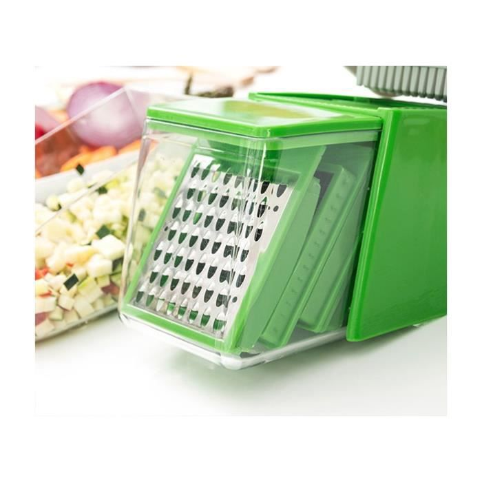 Coupe legumes nicer dicer achat vente coupe legumes nicer dicer pas cher cdiscount - Nicer dicer coupe legumes ...