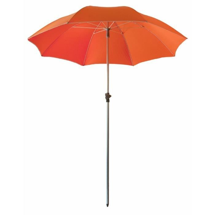 parasol de plage anti uv et s curis orange achat. Black Bedroom Furniture Sets. Home Design Ideas