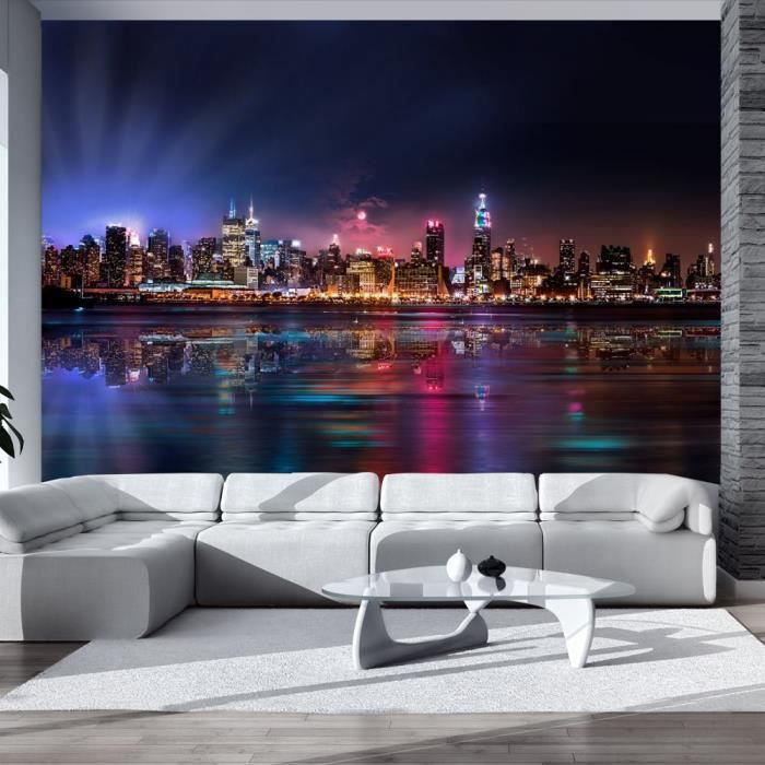 Papier peint intiss new york 400x280 cm 8 l s achat for Papier peint new york castorama