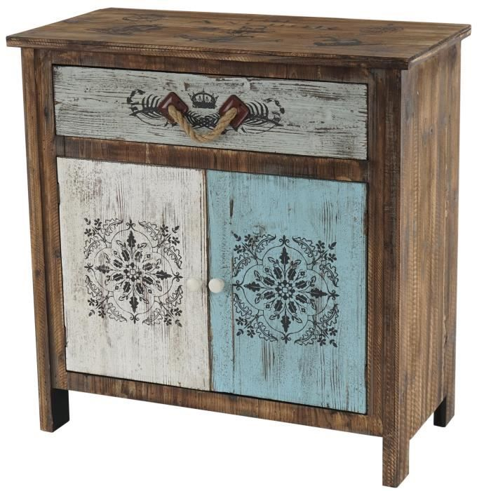 commode funchal armoire table d 39 appoint vintage shabby. Black Bedroom Furniture Sets. Home Design Ideas