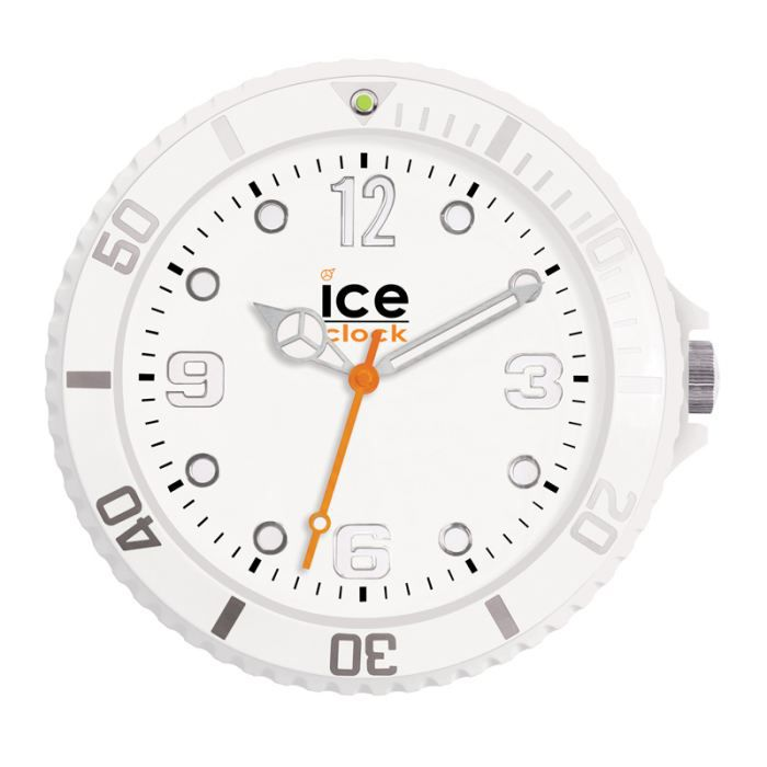 horloge murale ice clock. Black Bedroom Furniture Sets. Home Design Ideas