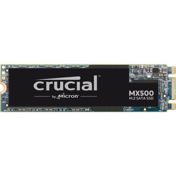 DISQUE DUR SSD Crucial CT250MX500SSD4 SSD interne MX500 (250Go, 3