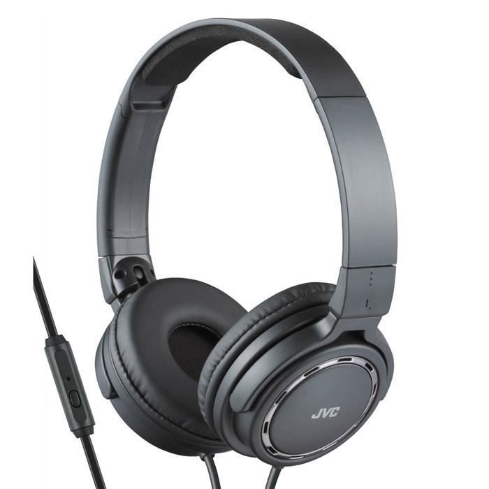 jvc ha sr525 noir casque audio avec t l commande casque couteur audio avis et prix pas. Black Bedroom Furniture Sets. Home Design Ideas