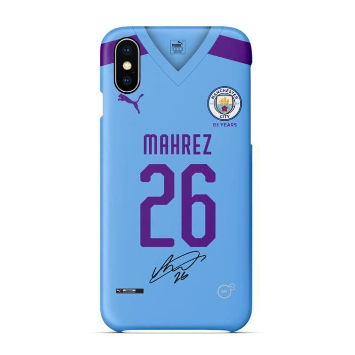 Coque iPhone 6-6S,2019-20 Manchester City Mahrez F