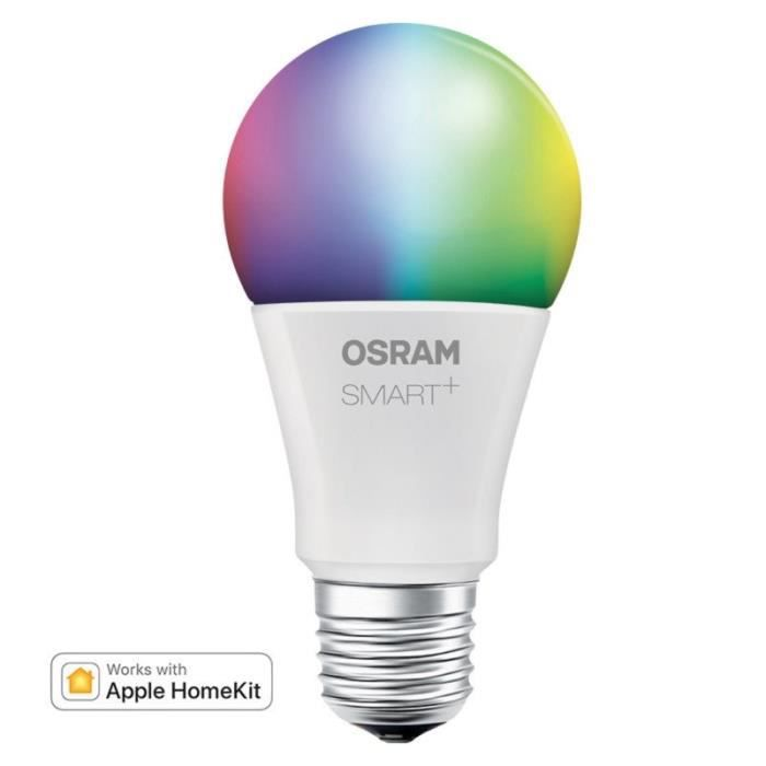 OSRAM Smart+ Ampoule LED Connectée - E27 Standard - Dimmable Couleurs 10W...