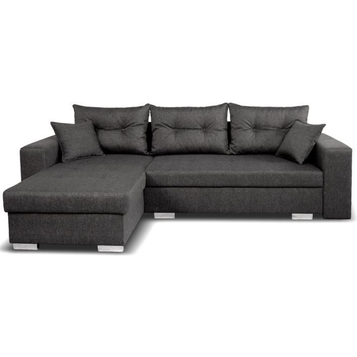canap d 39 angle gauche convertible switsofa arizona achat. Black Bedroom Furniture Sets. Home Design Ideas