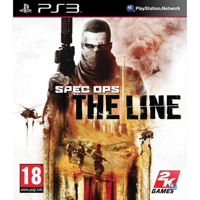 JEU PS3 Spec Ops: The Line PS3 [import anglais]