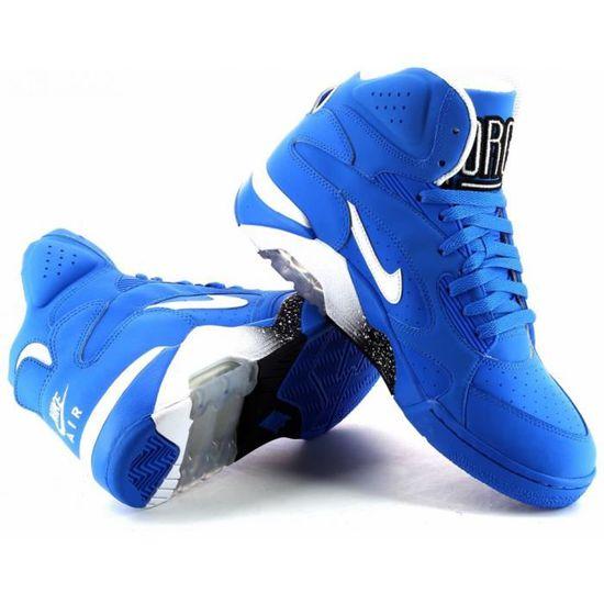 Basket Nike Air Force 180 Mid Bleu Bleu Achat