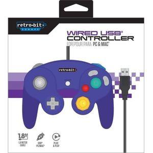 MANETTE JEUX VIDÉO Manette Retro-Bit Gamecube pour PC
