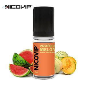 LIQUIDE Pack 10 E-liquides Alfaliquid Melon - 0mg