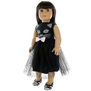 US Cute Doctor Nurse Doll Clothes Outfit Sets for 18 in Our Generation Dolls New
