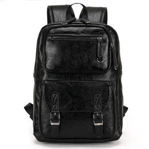 SAC À DOS INFORMATIQUE Grand sac à dos en cuir pour homme d'affaires pour