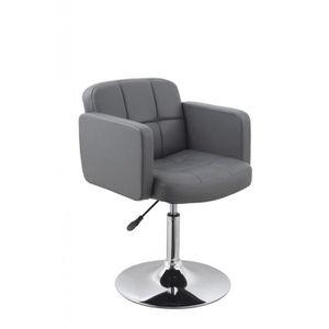 FAUTEUIL Fauteuil lounge design hauteur réglable en similic