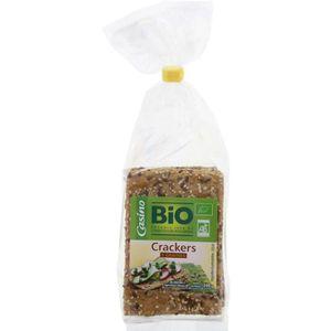 BISCUITS SALÉS Crackers 3 graines bio 200g