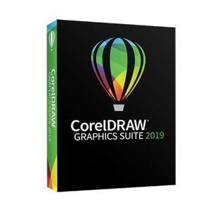 SYSTÈME D'EXPLOITATION COREL CorelDRAW Graphics Suite 2019 - Pack de boît