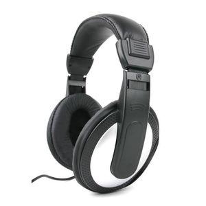 CASQUE AVEC MICROPHONE Casque audio gris pour PC HP Pavilion 15-p031nf