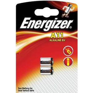 PILES pile a11 6v energizer - blister de 2 piles